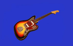 free 1963 fender jaguar guitar background or screen saver