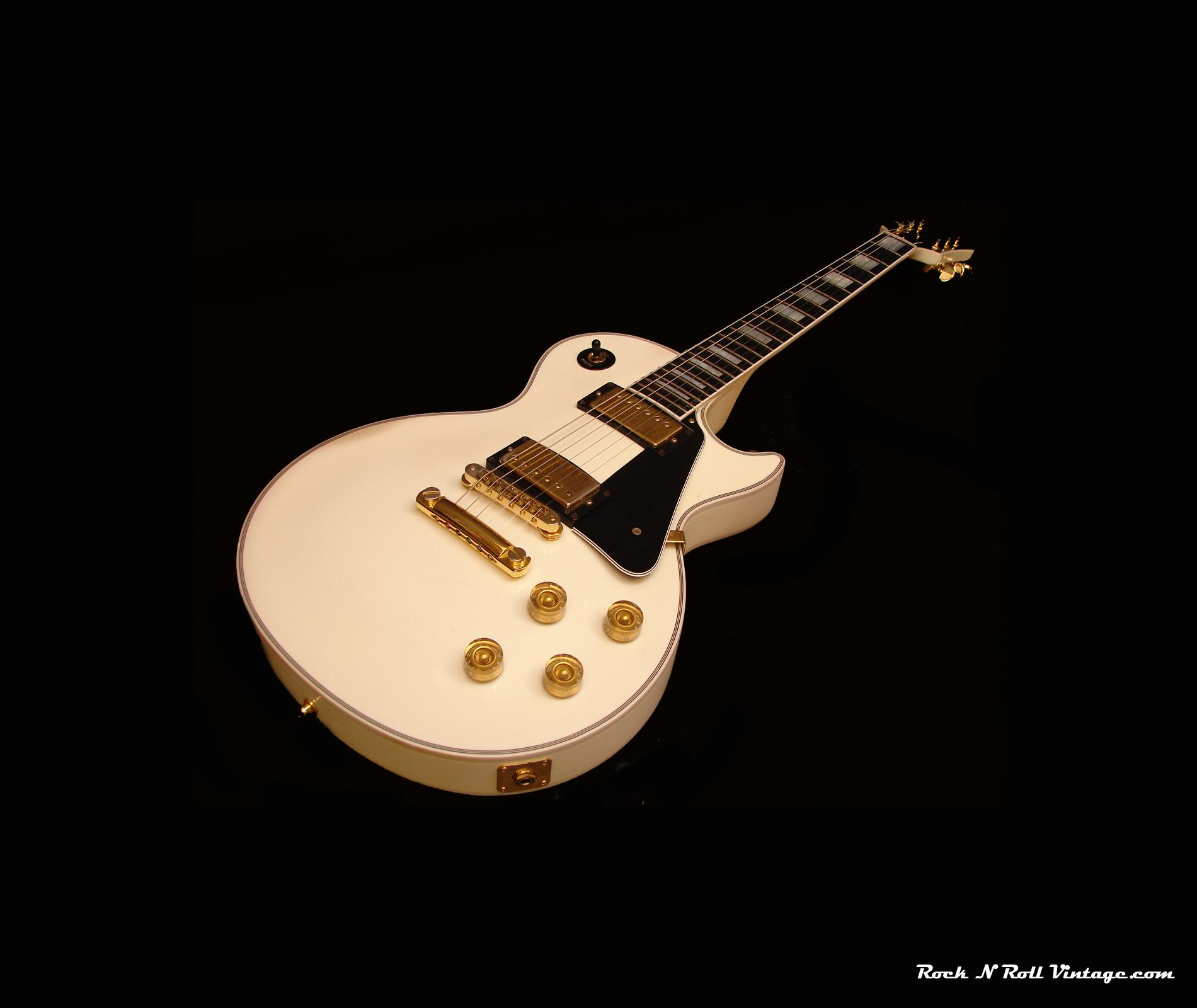 1987 Les Paul Custom. 1965 Fender Mustang Wallpaper