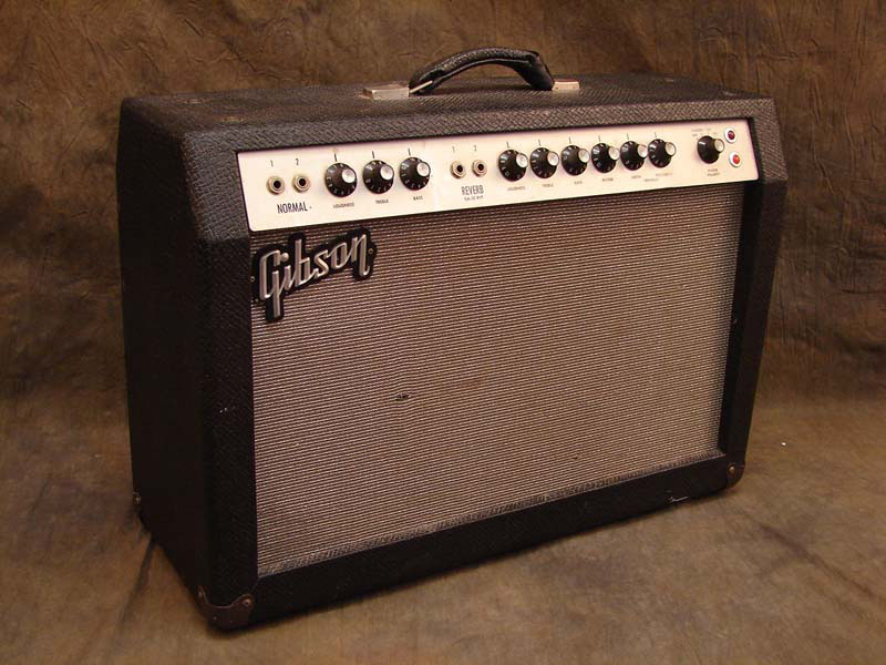 Dating a vintage gibson amp