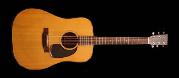 1969 martin d-18 acoutic guitar