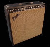1966 fedner super reverb amp photo