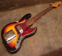 1964 fender jazz bass photograph
