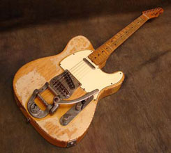 1967 maple cap telecaster photograph