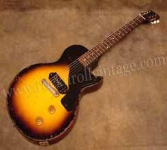 1954 les paul junior in surburst