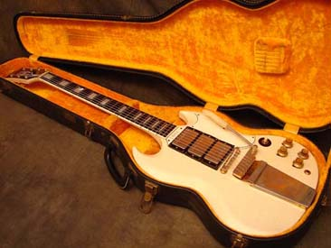 1964 Gibson SG Custom in White